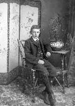 Fred Powell, son of Mary Powell (nee Branford), c. 1904.