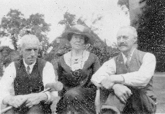 Jack, Edith, and Ben Branford, 1925
