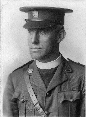 Jack Branford in 1914 when serving as army chaplain.